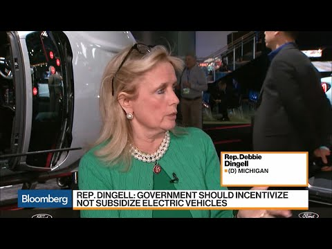 Rep. Dingell Says Electric Vehicles Should Be Incentivized