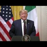 President Trump Participates in a Joint Press Conference with the President of the Italian Republic