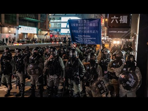 Hong Kong Braces for Major New Year's Day Rally