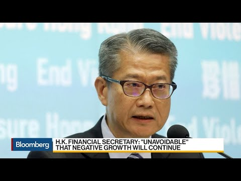 Hong Kong Economy to Shrink in Fourth Quarter, Finance Head Says