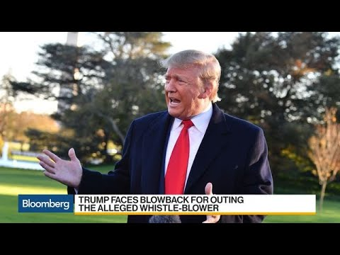 Trump Faces Blowback for Outing Alleged Whistle-Blower