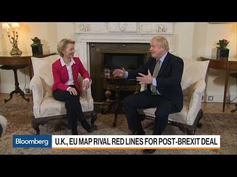U.K., EU Map Rival Red Lines for Post-Brexit Deal