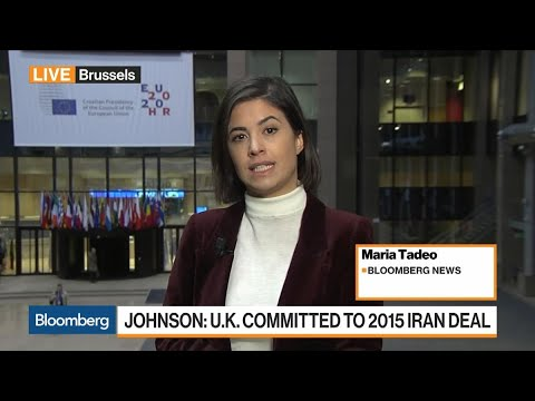 EU Foreign Ministers Meet on Iran
