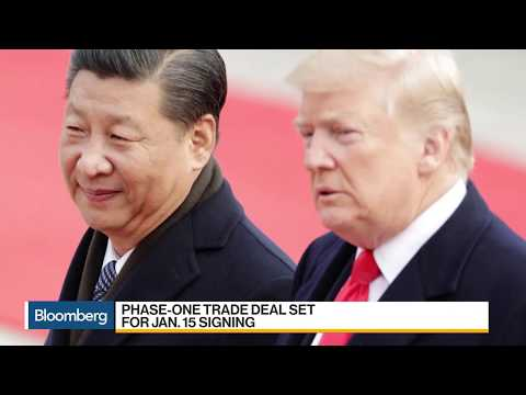 China Vice Premier Liu Will Sign Phase One Trade Deal in U.S.