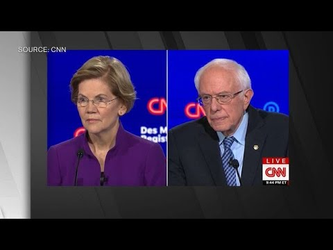 Sanders Says He Never Told Warren a Woman Couldn't Win Election