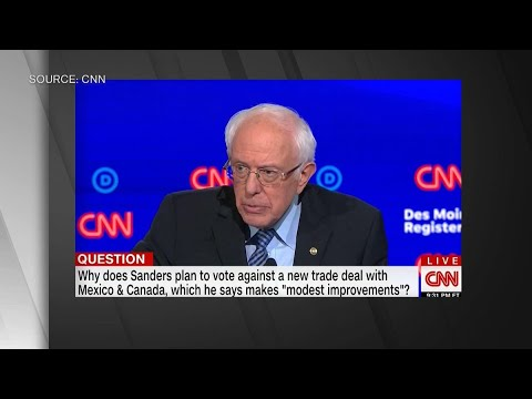 Sanders: We Can Do Better Than a Trump-Led Trade Deal