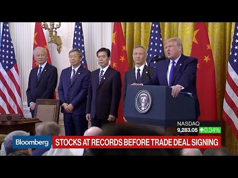 Trump Says Chinese Tariffs Will Come Off When 'We Finish Phase Two'