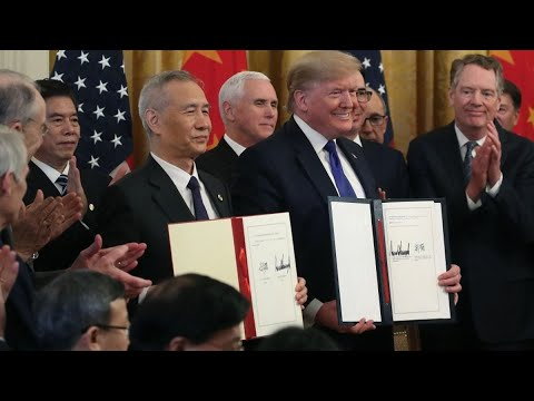 Grading the U.S.-China Phase-One Trade Deal