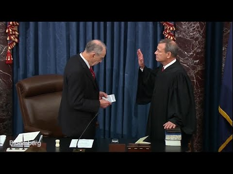 ChiefJusticeRobertsSworn In to Preside Over Impeachment Trial
