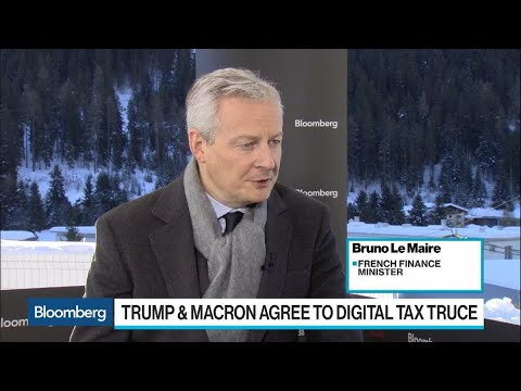 France, U.S. in a 'Good Mood' for Negotiating: Le Maire