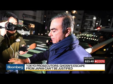Ghosn to Brief Press in Beirut on Jan. 8 at 10pm Japan Time