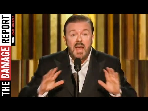 Ricky Gervais ROASTS Corporate Hollywood