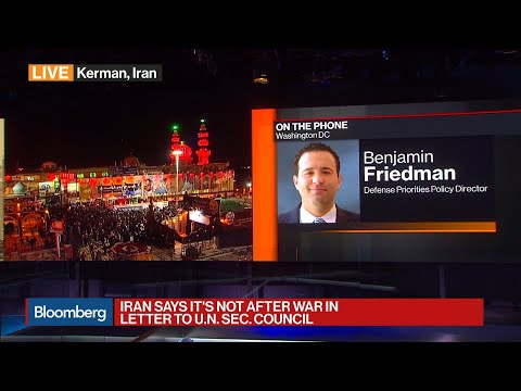Time for U.S. to Back Down, Says Defense Priorities's Friedman