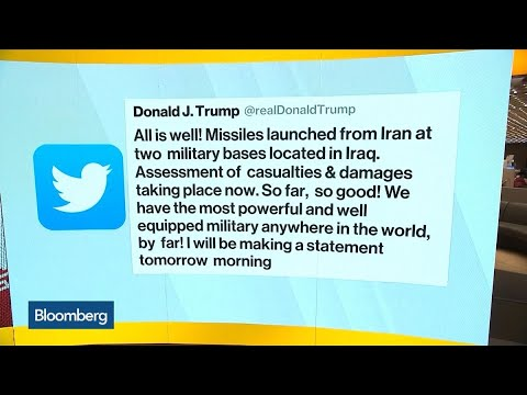 Trump Claims 'All Is Well' After Iran Rocket Attack