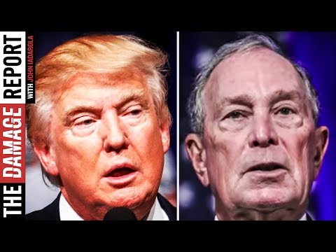 Trump Caught Up In Bloomberg's Racist Rant