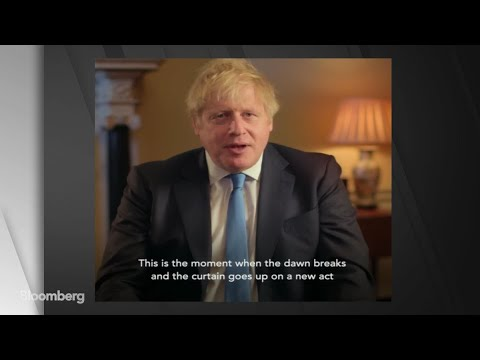 Johnson Says Brexit Offers U.K. an Opportunity for 'Renewal and Change'