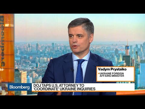 DOJ Inquiries Shouldn't Affect U.S.-Ukraine Relations, Foreign Minister Prystaiko Says