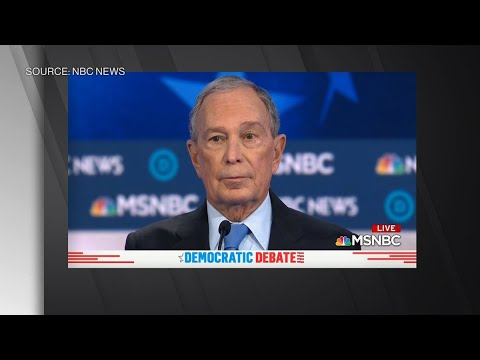Bloomberg Says He Can Beat President Trump