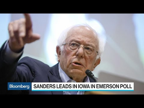 Sanders Predicted to Win Iowa Caucuses: Emerson Poll