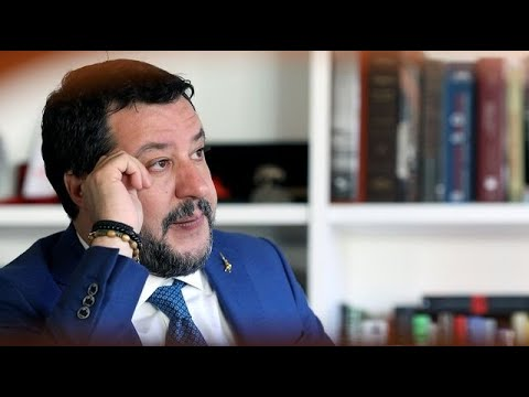 Italy's Salvini Wants Aid for Virus-Hit North
