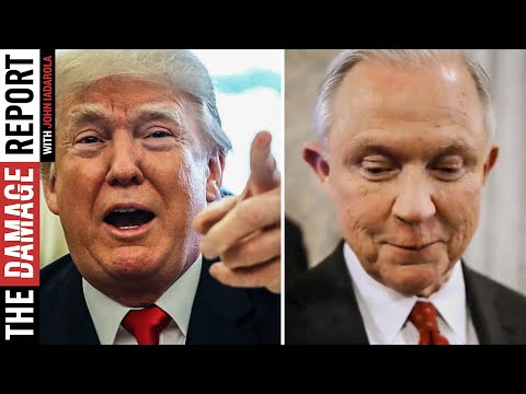 Trump Stabs Jeff Sessions In The Back