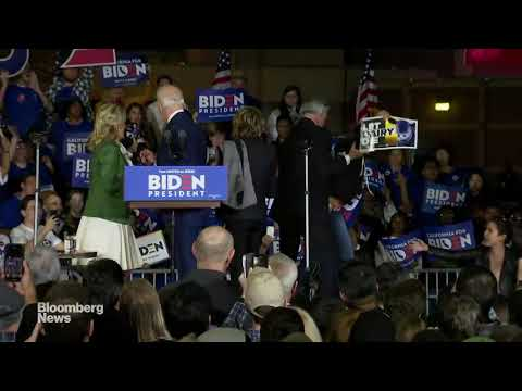 Watch Jill Biden Take on Protesters at Super Tuesday Speech